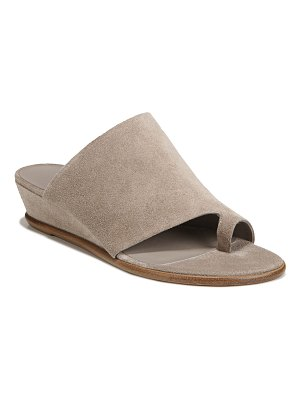 Vince Darla Suede Wedge Sandals