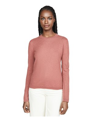 Vince fitted crew cashmere sweater
