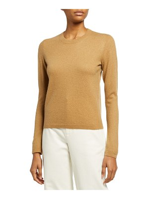 Vince Fitted Long-Sleeve Crewneck T-Shirt