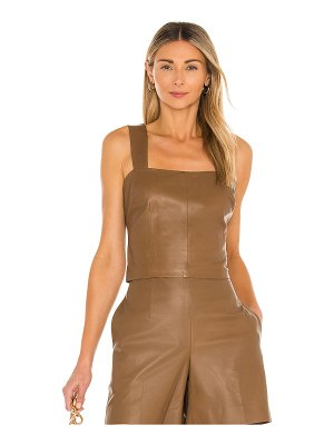 Vince leather tank