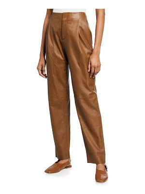 Vince Leather Tapered Pant