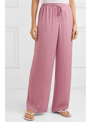 Vince satin wide-leg pants