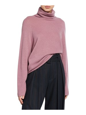 Vince Seamless Cashmere Turtleneck Top