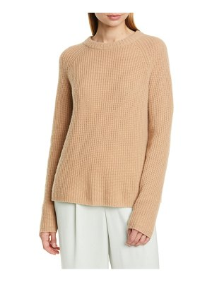 Vince shaker stitch cashmere sweater