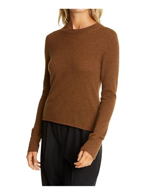 Vince slim fit long sleeve cashmere sweater