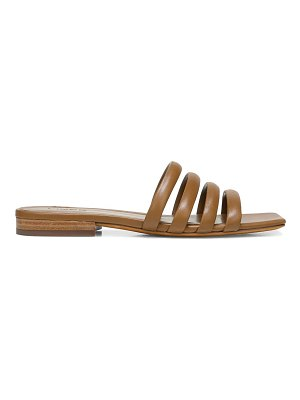Vince zahara flat leather sandals