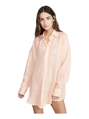 Vitamin A playa shirt dress