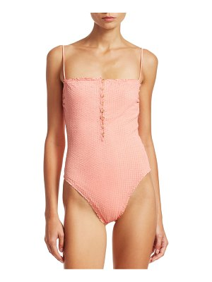 ViX by Paula Hermanny romance scales one-piece bikini