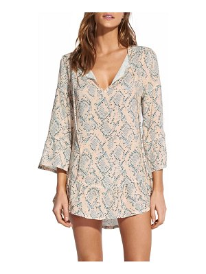Vix Swimwear nusa ruffle cover-up tunic