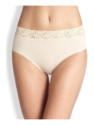 Wacoal cotton high-cut brief