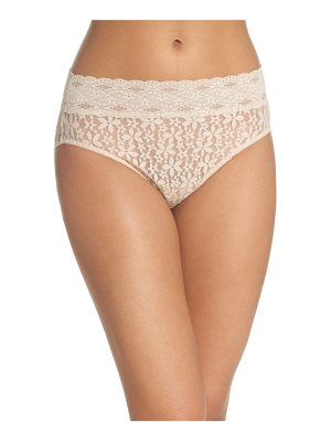 Wacoal halo lace high cut briefs