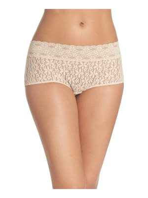 WACOAL 'Halo Lace' Boyshorts