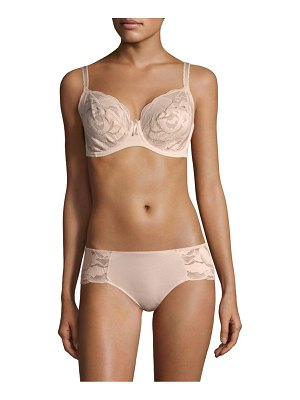 Wacoal rose lace underwire bra