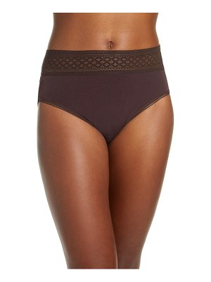Wacoal subtle beauty high cut briefs