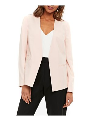Wallis ocean stretch crepe crop jacket