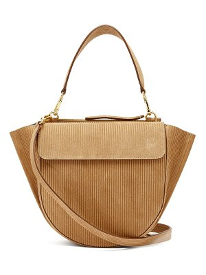 WANDLER hortensia medium corduroy shoulder bag