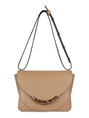 WANDLER Luna large smooth leather bag