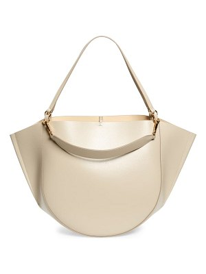 WANDLER mia leather tote bag