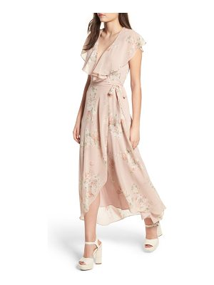 WAYF Polermo Wrap Maxi Dress