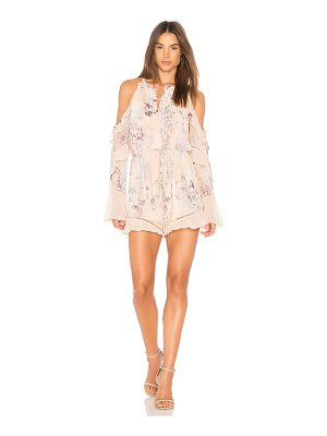 WE ARE KINDRED Paloma Cold Shoulder Romper