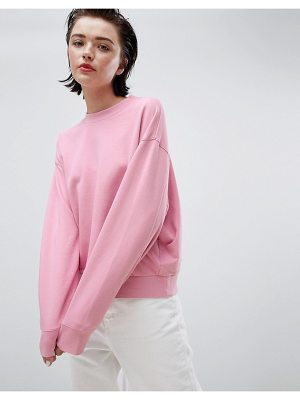 Weekday cropped sweatshirt