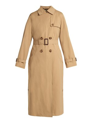 Weekend Max Mara Belted double-breasted trench coat