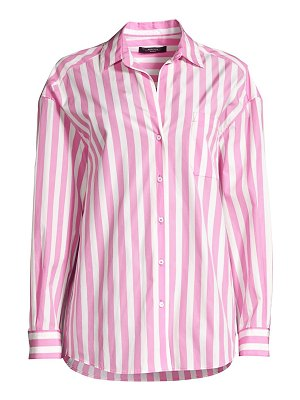 Weekend Max Mara bembo stripe poplin shirt
