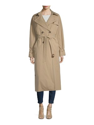 Weekend Max Mara giunto long trench coat
