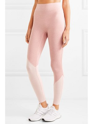 We/Me the synergy two-tone stretch-jersey leggings