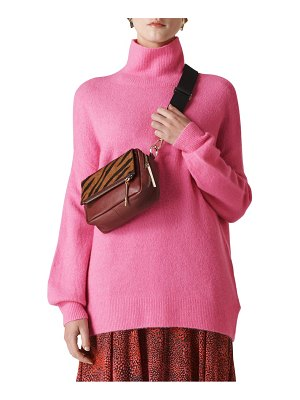 Whistles oversize slouchy funnel neck sweater