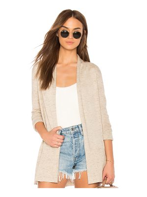 White + Warren High Rib Cardigan