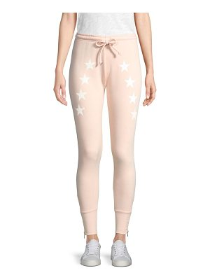Wildfox cosmos star sweat pants
