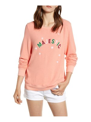 Wildfox majestic baggy beach pullover