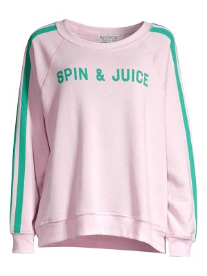 Wildfox spin juice sweatshirt