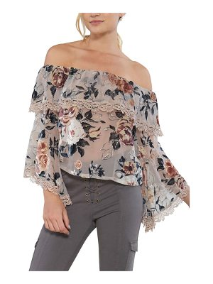 Willow & Clay off the shoulder top