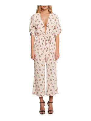 WILLOW & CLAY Plunging Jumpsuit