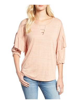 Wit & Wisdom ruffle top