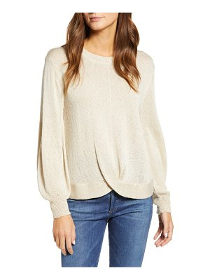 Wit & Wisdom wrap front sweater