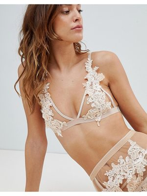 With Love Lilly Champagne Blush Bralette
