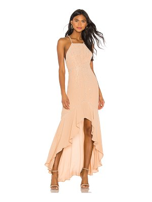 X by NBD annie embellished dress