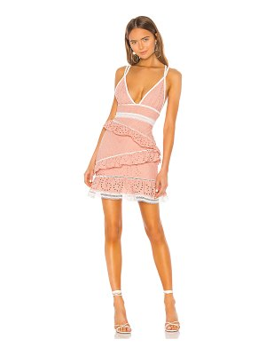 X by NBD arlissa mini dress