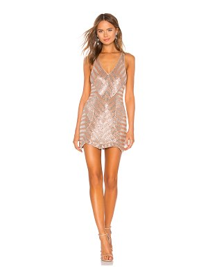 X by NBD Europa Embellished Mini Dress