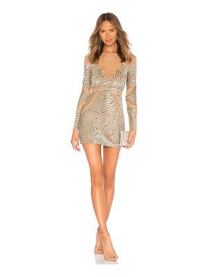 X by NBD Meranda Embellished Mini Dress