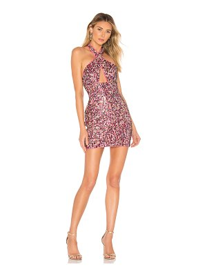 X by NBD Stormy Embellished Mini Dress