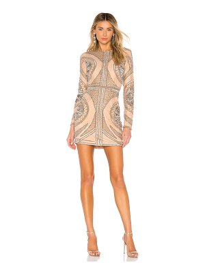 X by NBD whitney embellished mini dress