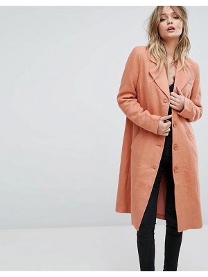 Y.a.s button down pea coat
