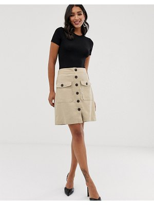Y.a.s button down skirt