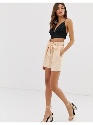 Y.a.s eyelet tie waist shorts