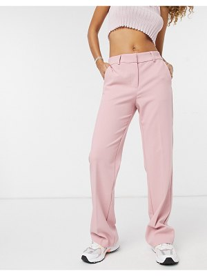 Y.a.s flared set pants in pink