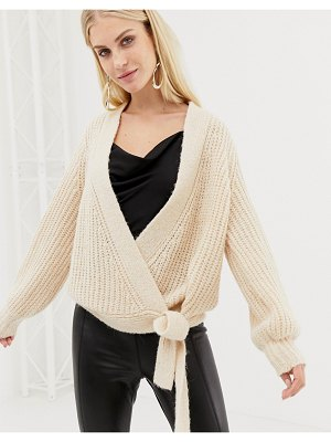 Y.a.s knitted wrap cardigan
